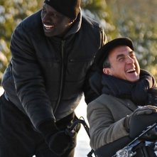 François Cluzet e Omar Sy in Intouchables