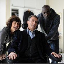 François Cluzet e Omar Sy nel film Intouchables