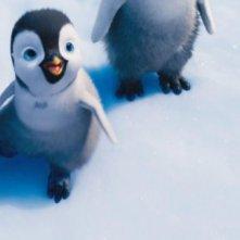 Happy Feet 2 in 3D: il piccolo Erik in una scena del film