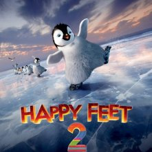 Happy Feet 2 in 3D: una locandina italiana del film