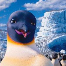 Happy Feet 2 in 3D: la mamma pinguino Gloria in una scena del film