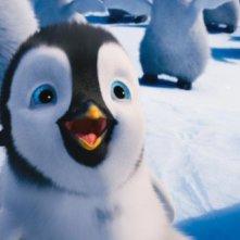 Happy Feet 2 in 3D: una curiosa immagine del piccolo protagonista Erik