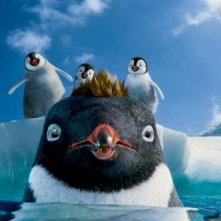 Happy Feet 2 in 3D, una simpatica scena tratta dal film