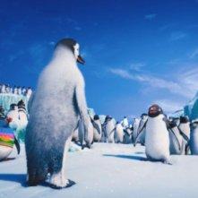 Happy Feet 2 in 3D: una suggestiva scena del film d'animazione diretto da George Miller