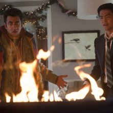 John Cho e Kal Penn in A Very Harold & Kumar Christmas