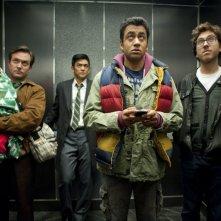 John Cho e Kal Penn nel film A Very Harold & Kumar Christmas
