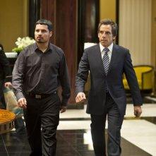 Michael Peña e Ben Stiller in una scena di Tower Heist: Colpo ad alto livello