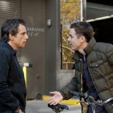 Tower Heist: Colpo ad alto livello, Ben Stiller insieme a Casey Affleck in una scena del film
