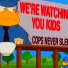 Una scena dell'episodio Schermaglie fra generazioni ( Stagione 10 - I Simpson )