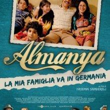 Almanya - La mia famiglia va in Germania: la locandina italiana del film