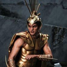 Daniel Sharman nei panni di Ares in una scena del film epico Immortals 3D
