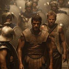 Henry Cavill è Teseo in una suggestiva immagine del film epico Immortals 3D