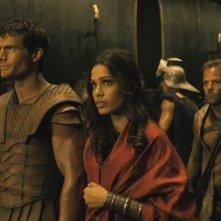 Henry Cavill, Freida Pinto e Stephen Dorff protagonisti del film epico Immortals 3D