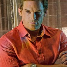 Michael C. Hall in un'immagine tratta dall'episodio The Angel of Death