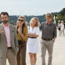 Midnight in Paris: Owen Wilson, Rachel McAdams, Nina Arianda e Michael Sheen in una scena del film