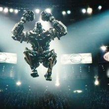 Real Steel: uno dei robot in azione sul ring