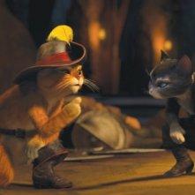 Il gatto con gli stivali: un'immagine tratta dal nuovo film d'animazione della Dreamworks