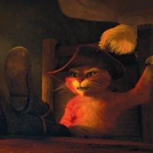 Il gatto con gli stivali: una scena del nuovo film d'animazione della Dreamworks