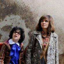 Valeria Golino in un'immagine tratta da La kryptonite nella borsa insieme al piccolo Luigi Catani