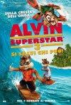 Alvin Superstar 3 - Si salvi chi può: la locandina italiana del film