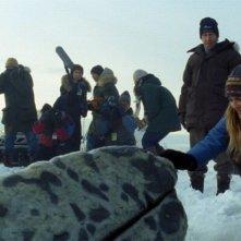 Drew Barrymore in una scena di Qualcosa di straordinario insieme a Tim Blake Nelson