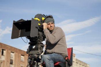 Il regista Massimo Venier sul set del film Il giorno in più