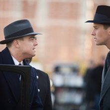 J.Edgar: Leonardo DiCaprio e Armie Hammer in una immagine del film