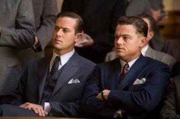 J.Edgar: Leonardo DiCaprio e Armie Hammer in una scena del film