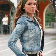 Nina Senicar sul set del film Napoletans