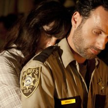 The Walking Dead: Andrew Lincoln e Sarah Wayne Callies nell'episodio La rosa di Cherokee