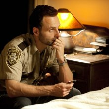 The Walking Dead: Andrew Lincoln nell'episodio La rosa di Cherokee