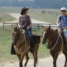 The Walking Dead: Lauren Cohan e Steven Yeun nell'episodio La rosa di Cherokee