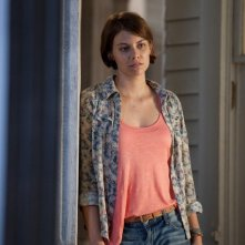 The Walking Dead: Lauren Cohan nell'episodio Sopravvivere