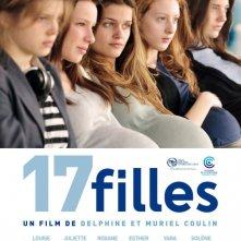 17 filles, la locandina francese del film