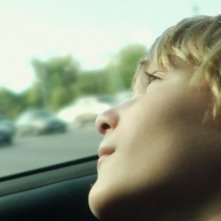 A little closer: Parker Lutz in una scena del film