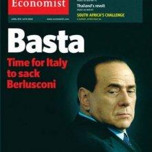 Basta - una copertina dell'Economist dedicata a Berlusconi