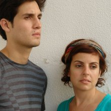 I registi Daniel Garcia e Rania Attieh in una foto promozionale del film Ok, Enough, Goodbye