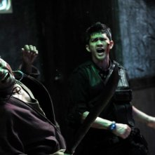 The Raid: Iko Uwais in una scena del film