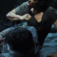 The Raid: una scena del violento film d'azione diretto da Gareth Huw Evans