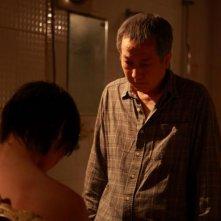 Una scena del film A confession, diretto da Park Su-min
