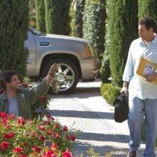 Adam Sandler in Jack and Jill (nei panni di Jack) mentre rientra a casa