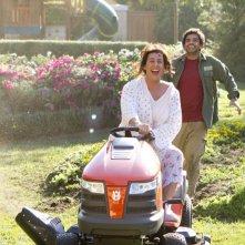 Adam Sandler in Jack and Jill (nei panni di Jill) alle prese col tosarba