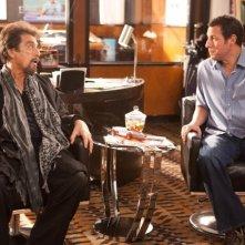 Al Pacino e Adam Sandler in Jack and Jill