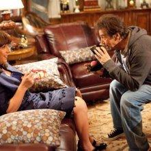 Al Pacino e Adam Sandler (nei panni di Jill Sadlestein) in Jack and Jill