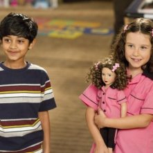 Jack and Jill: i piccoli Rohan Chand ed Elodie Tougne in una scena