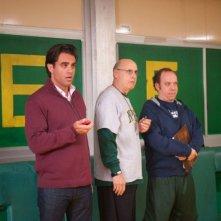 Paul Giamatti insieme a Bobby Cannavale e Jeffrey Tambor in una scena di Mosse Vincenti