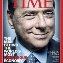 Silvio Berlusconi in copertina sul Time (novembre 2011)