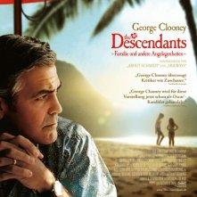The Descendants: la locandina tedesca del film
