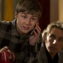 Parenthood: Miles Heizer e Dax Shepard nell'episodio Happy Thanksgiving