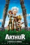 Arthur 3 - La guerra dei due mondi: la locandina italiana del film